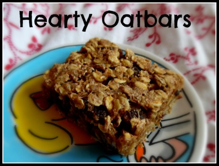 Hearty Oatbars