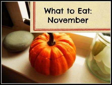 What to Eat in November