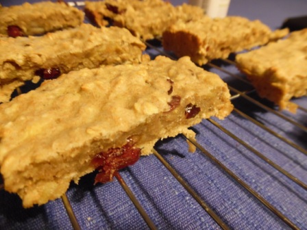 cranberry banana bread bar 2