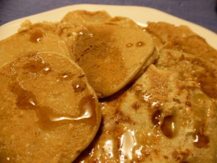 healthy spiced pancakes