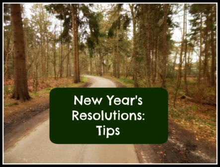New Year's Resolutions Tip