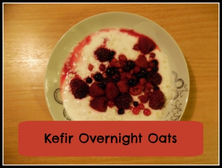 Kefir Overnight Oats