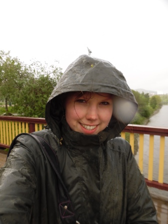 Walking in the rain? Just keep smiling!