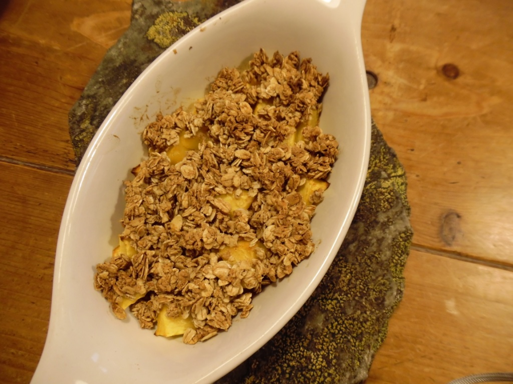peach crumble feat