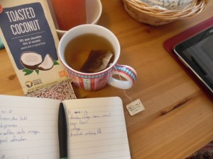 chocolate, tea and to do lists