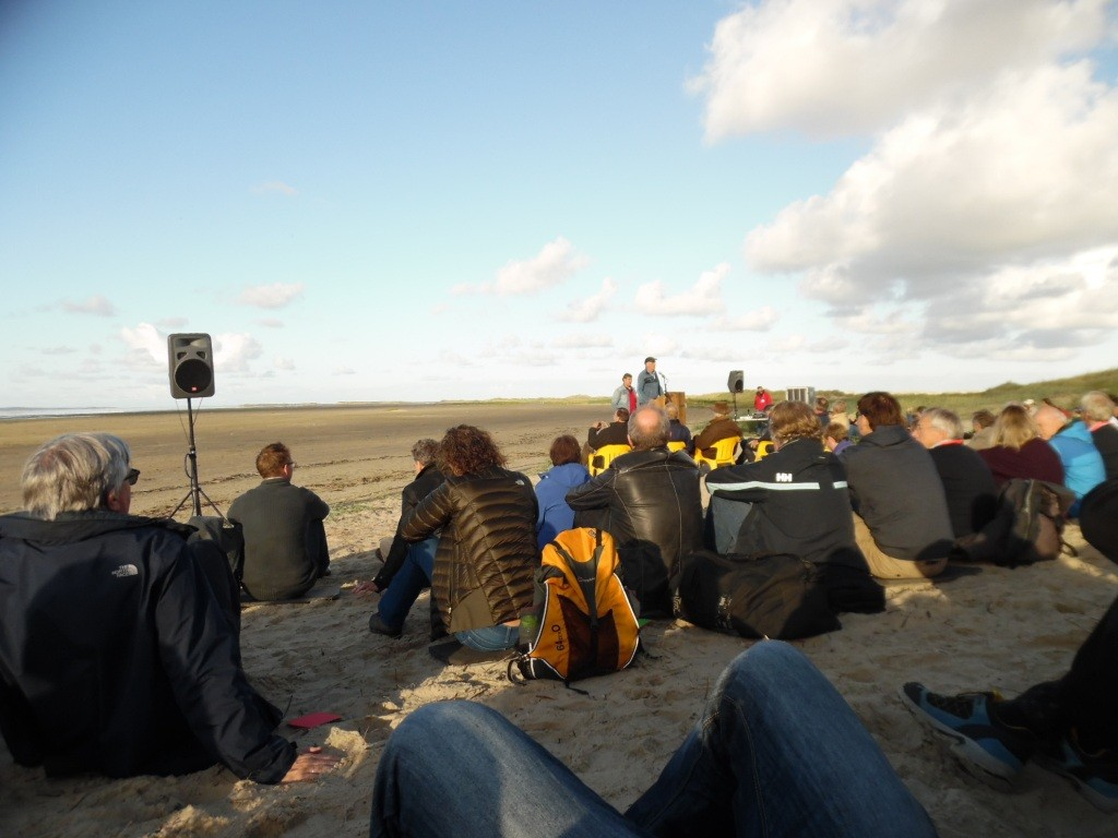 plenary session on the beach