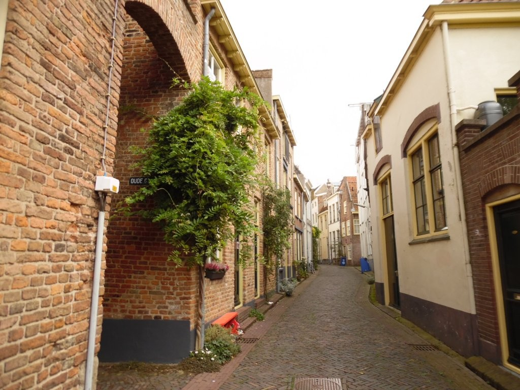 The lovely streets of Zutphen, where I recently made an unexpected stop during a journey